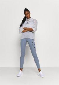 Nike Performance - RUN  - Sports jacket - white/black - 1