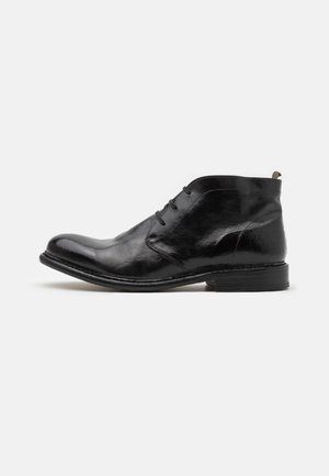Botines con cordones - todi washed black