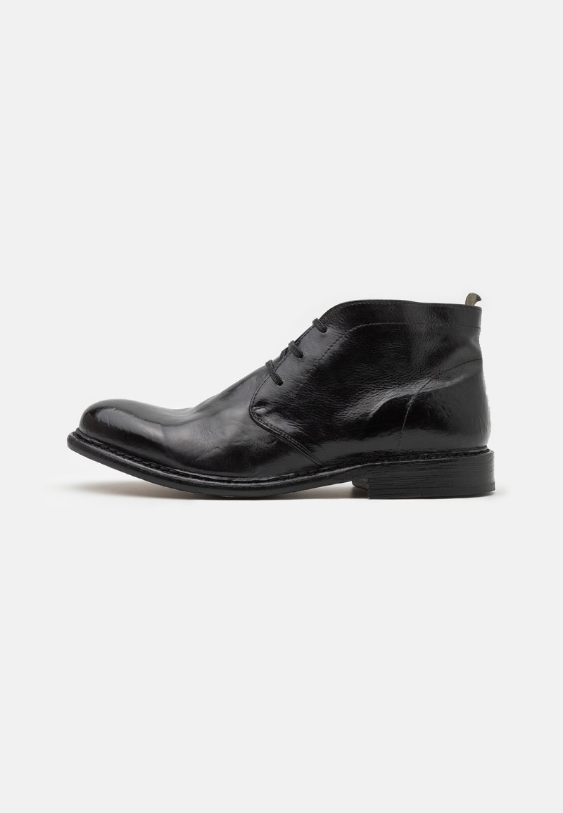 Cordwainer - Lace-up ankle boots - todi washed black