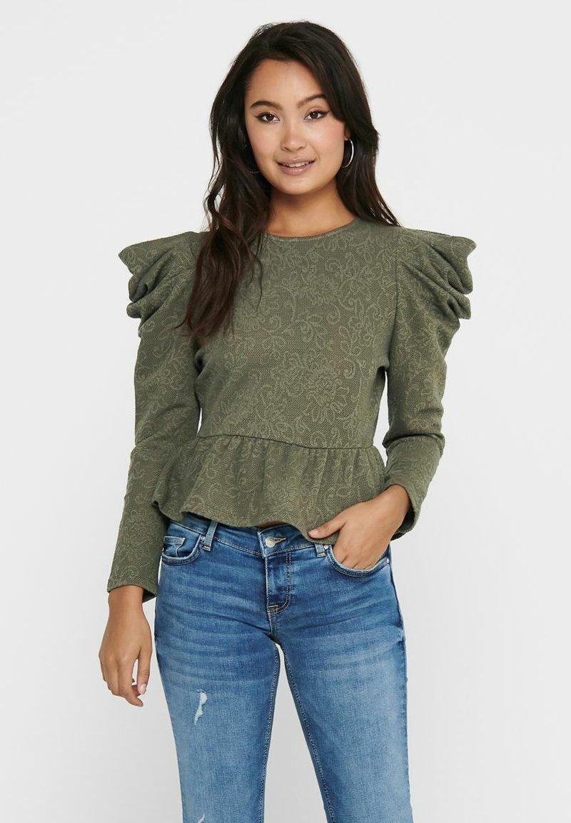 ONLY - Long sleeved top - kalamata