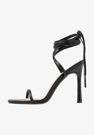 MIYA - Sandały na obcasie - black