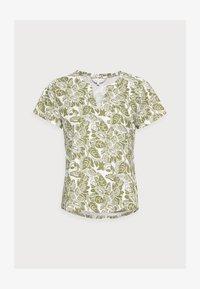 GESINA - Print T-shirt - olive