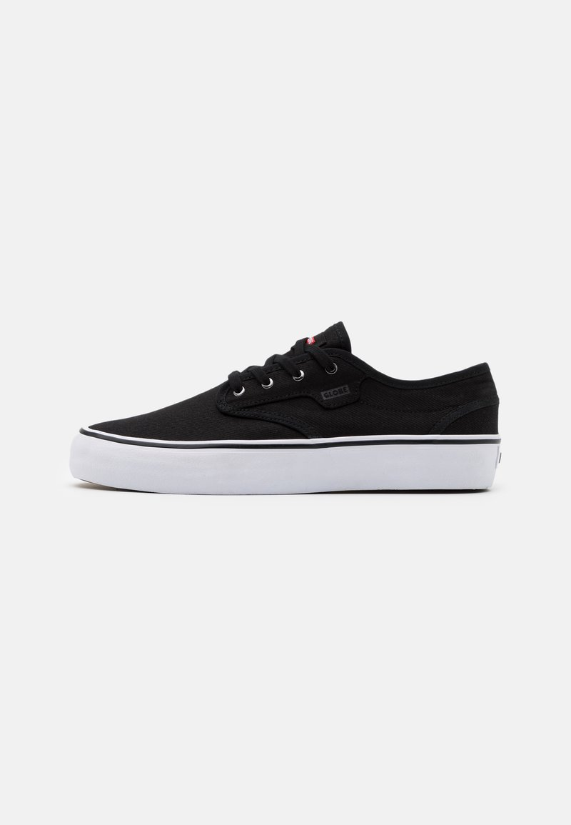Globe - MOTLEY - Sneakersy niskie - black/white
