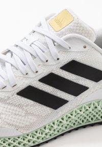 adidas Performance - 4D 1.0 - Obuwie do biegania treningowe - footwear white/core black/gold - 5