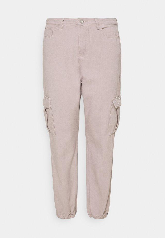 CARGO - Jeans baggy - grey