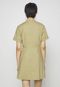 Samsøe Samsøe - BARBARA SHORT DRESS - Shirt dress - olive grey - 2