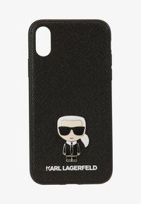 KARL LAGERFELD - IKONIK PIN XS - Obal na telefon - black - 1