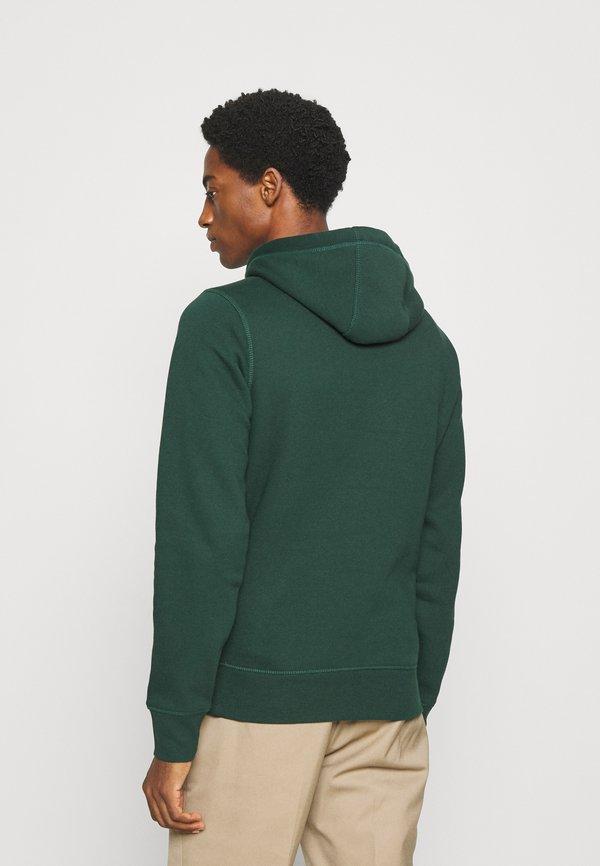 Tommy Hilfiger LOGO HOODY - Bluza z kapturem - green/zielony Odzież Męska DVXQ