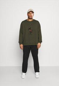 Polo Ralph Lauren Big & Tall - DOUBLE TECH - Sweatshirt - company olive - 1