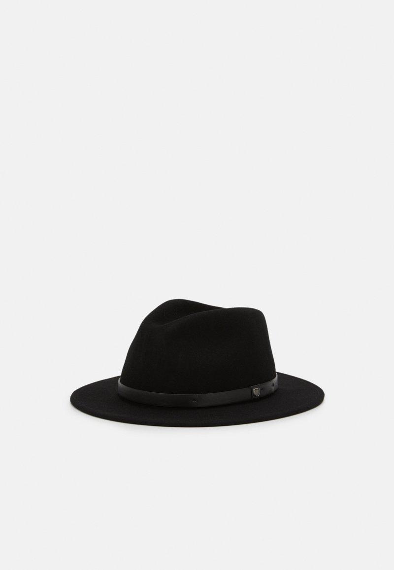 Brixton - MESSER FEDORA - Hatt - black