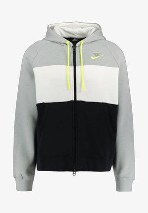 Zip-up hoodie - silber