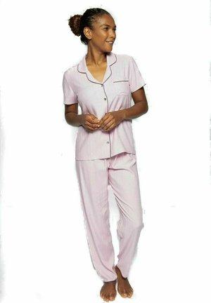 LUCY - Pyžamo - pink mini dot
