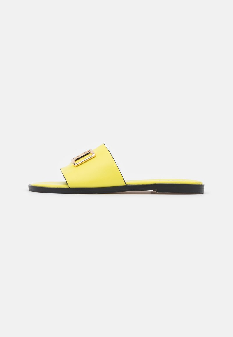 River Island - Mules - yellow bright