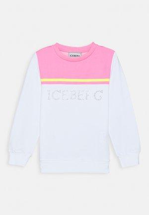 FELPA GIROCOLLO - Sweatshirt - pink