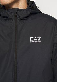 EA7 Emporio Armani - GIUBBOTTO - Lehká bunda - night blue/silver - 6