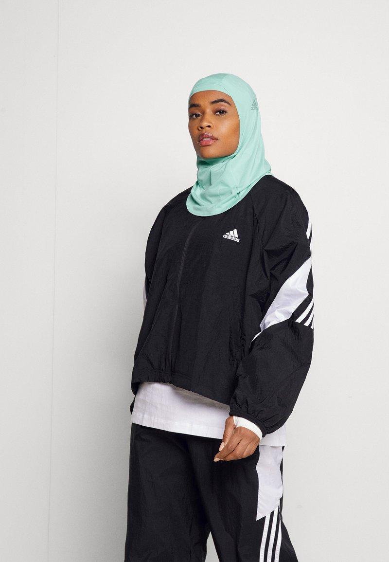 adidas Performance - HIJAB SET - Headscarf - clear mint