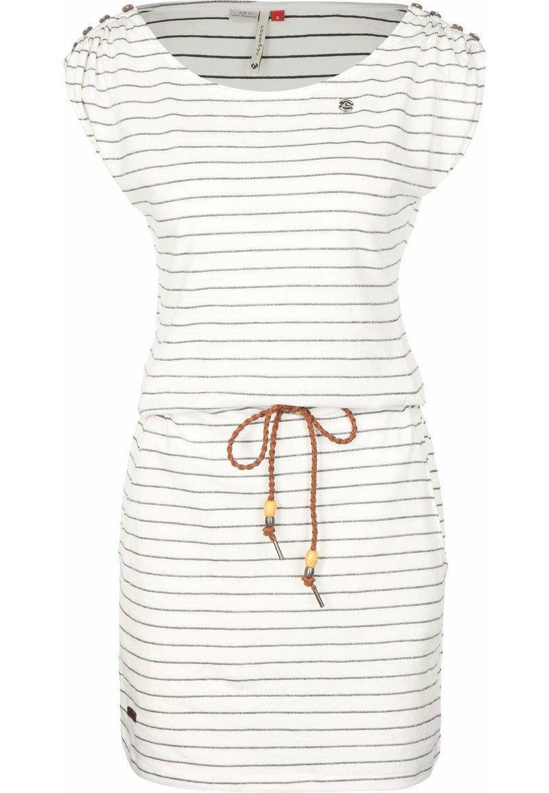 Ragwear - Denní šaty - white