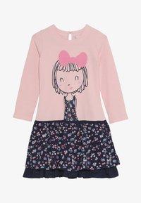happy girls - GIRL - Žerzejové šaty - rose - 4