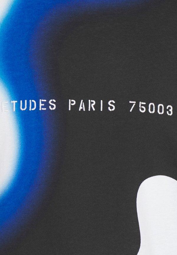 Études SMOKE UNISEX - T-shirt z nadrukiem - black/czarny Odzież Męska NZYK