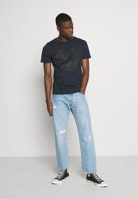 Replay - TEE - T-shirt med print - blue - 1
