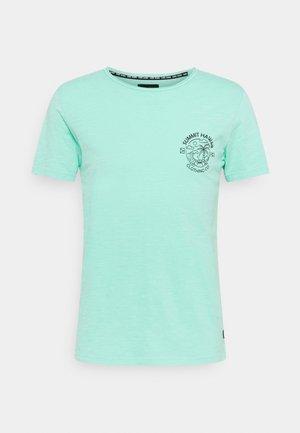 ONTARIO - Print T-shirt - aqua