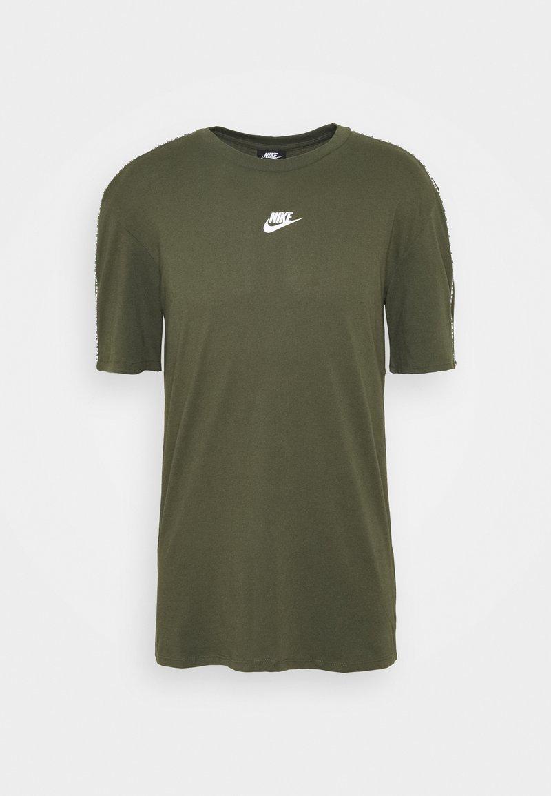 Nike Sportswear - REPEAT - Print T-shirt - cargo khaki
