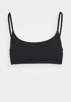 SUNNY STRUCTURE SWIM - Bikini top - black
