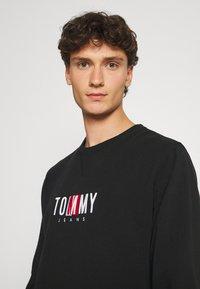 Tommy Jeans - TIMELESS CREW UNISEX - Collegepaita - black - 3