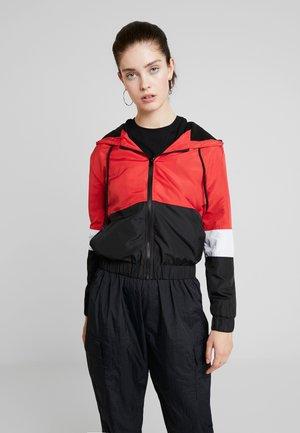 Lehká bunda - white/red