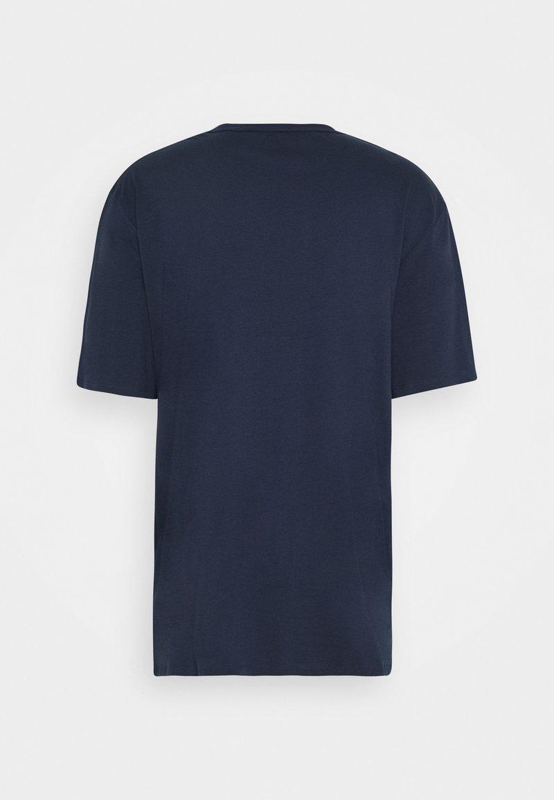 Jack & Jones JORBASIC TEE CREW NECK 3 PACK - T-Shirt basic - navy blazer/white/black/schwarz ScH1es
