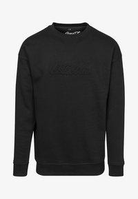 COCA COLA EMBOSSED CREWNECK - Sweatshirt - black