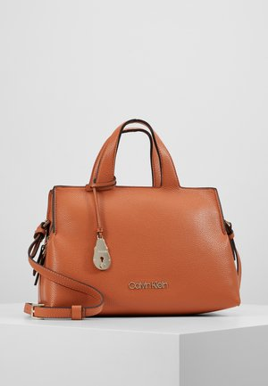 NEAT TOTE - Handbag - brown