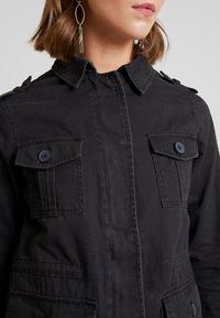 New Look - POCKET UTILITY SHACKET - Summer jacket - black - 5