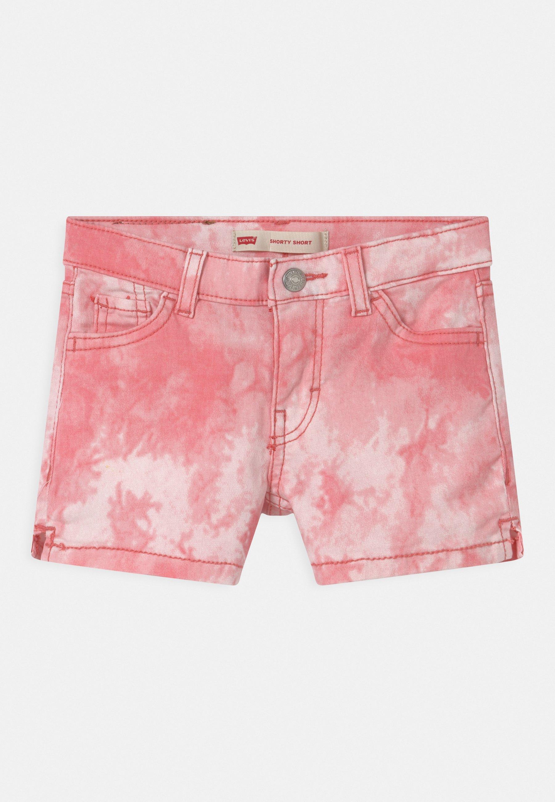 Kinder TIE DYE - Jeans Shorts