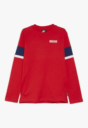 AIR - Long sleeved top - university red/blue void/whit
