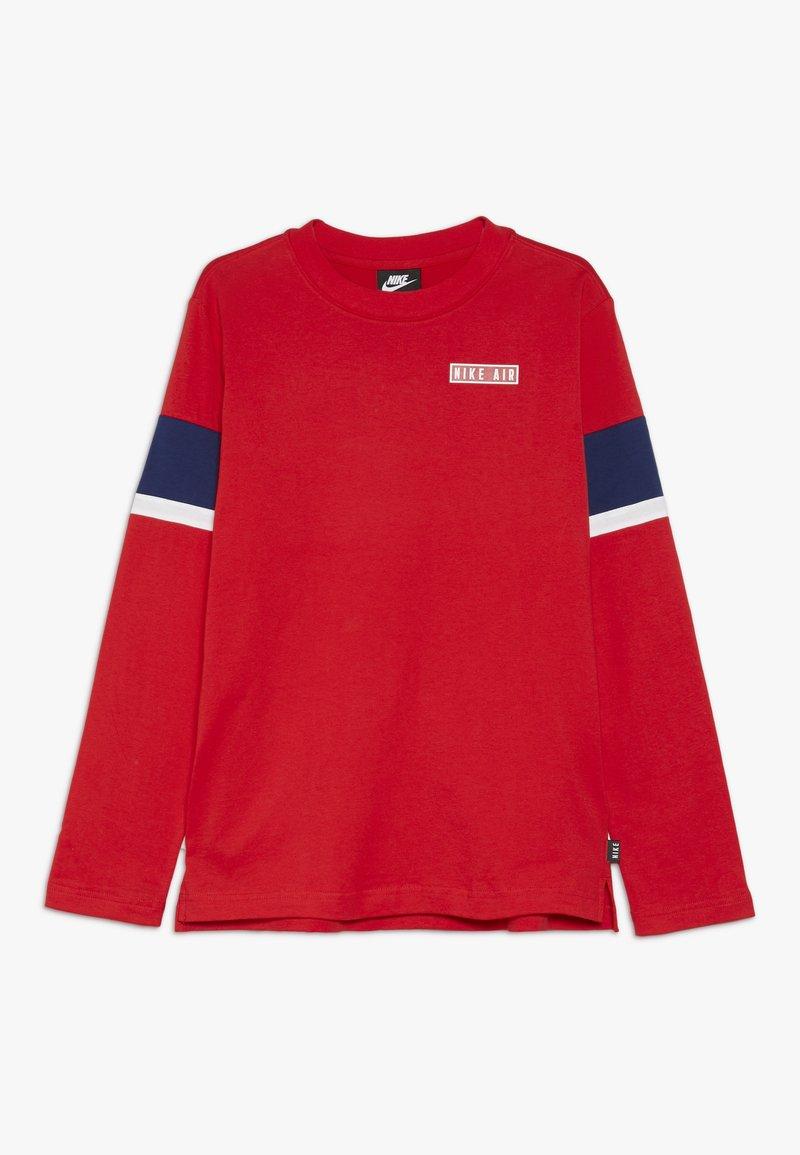 Nike Sportswear - AIR - Long sleeved top - university red/blue void/whit