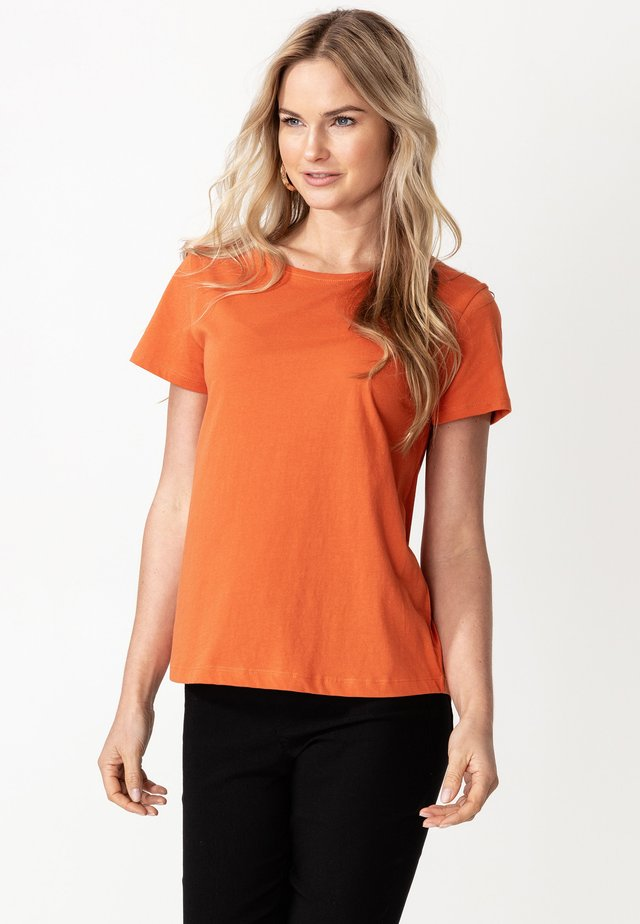 MATHILDA - T-shirts basic - rust