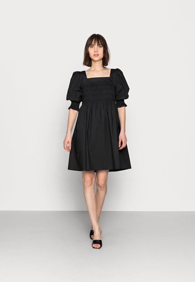 LENAGZ DRESS - Korte jurk - black