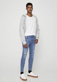 PULL&BEAR - Jeans Skinny Fit - stone blue denim - 1
