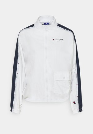 FULL ZIP ROCHESTER - Training jacket - white/navy