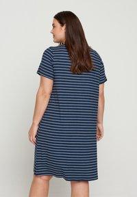 Zizzi - VFREJA DRESS - Jersey dress - mood indigo - 2