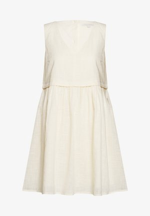 Day dress - soft creme beige
