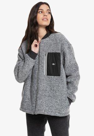 SURFER SHELTER - Fleece jacket - dark grey heather