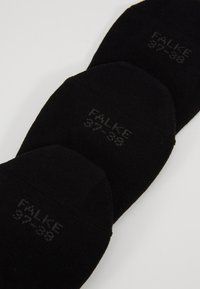 Falke - 3-PACK - Trainer socks - black - 2