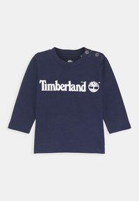 Timberland - LONG SLEEVE - Long sleeved top - navy - 0