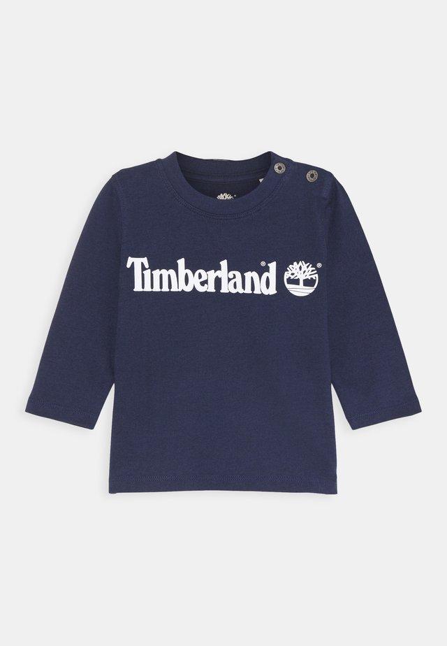 LONG SLEEVE - T-shirt à manches longues - navy