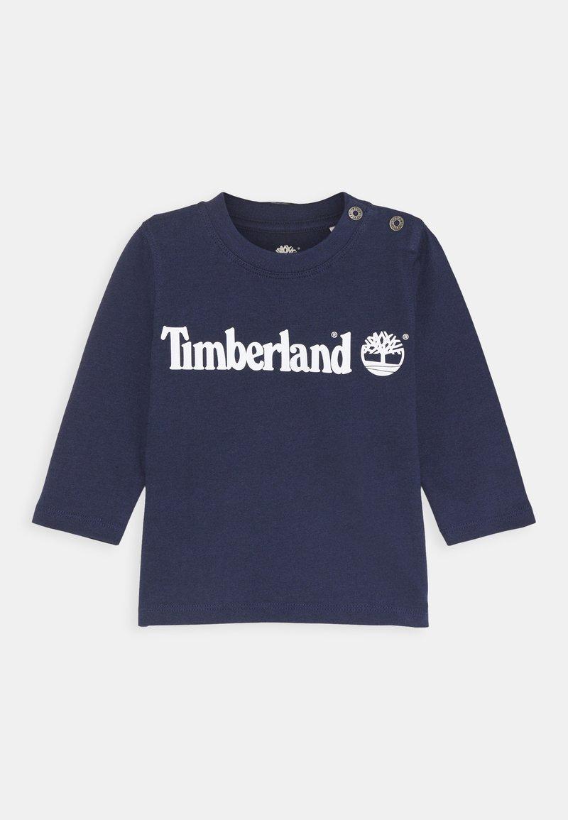 Timberland - LONG SLEEVE - Long sleeved top - navy