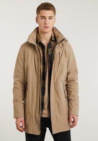 CHASIN' - SATURN LIGHT - Short coat - beige - 0