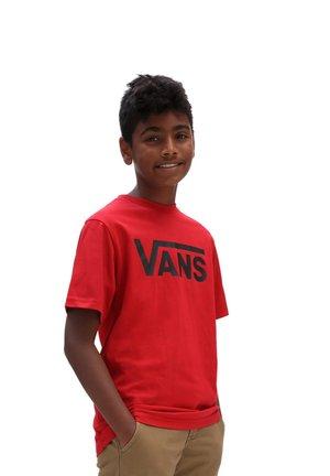 CLASSIC BOYS - T-shirt med print - red
