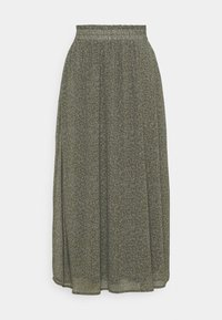 SLFGAIA SKIRT - Maxi skirt - kalamata
